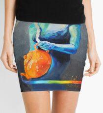 Heal with Rainbow Tea (self portrait) Mini Skirt