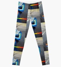 Heal with Rainbow Tea (self portrait) Leggings