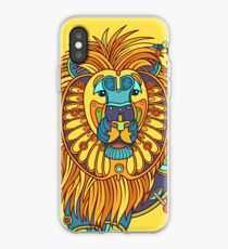 Lion, from the AlphaPod collection iPhone Case