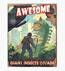 Fallout 4 Astoundingly Awesome Tales Giant Insects Invade Poster  Photographic Print