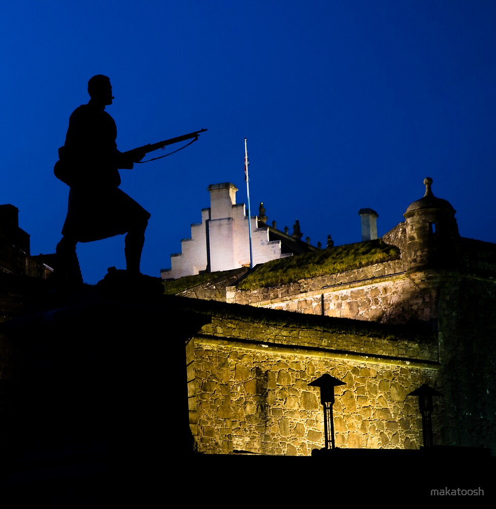 Stirling Castle by makatoosh