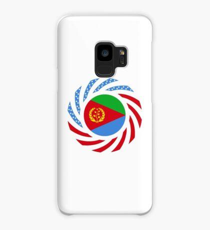 Eritrean American Multinational Patriot Flag Series Case/Skin for Samsung Galaxy