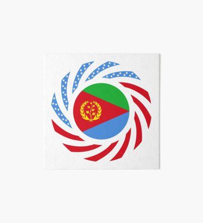 Eritrean American Multinational Patriot Flag Series Art Board Print