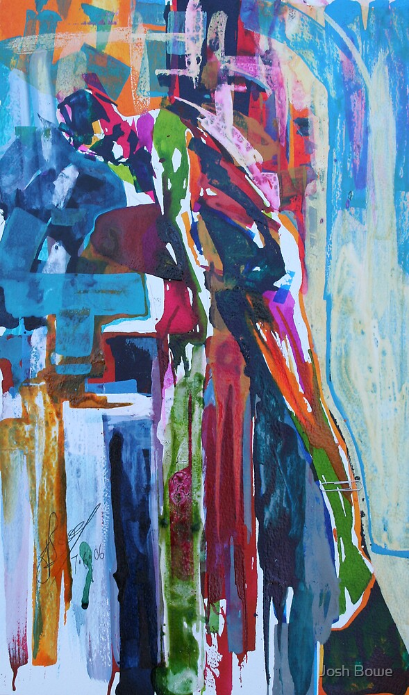 Life Study 66(Abstracted) by Josh Bowe