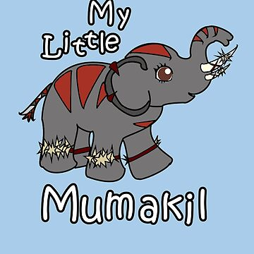 My little Mumakil by nimbus-nought
