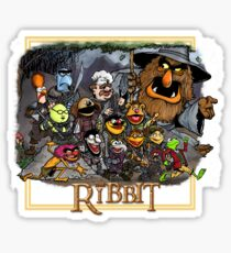 The Ribbit Sticker