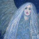 Metelitsa,Snow Maiden, Snow Girl, Snegurochka, Fantasy Art by clipsocallipso
