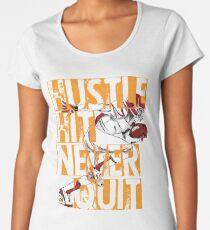 American Footballer Gift Women's Premium T-Shirt