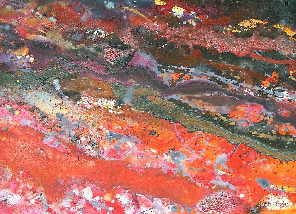 Splatter Abstract 2a by Josh Bowe