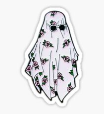 indie ghost Sticker