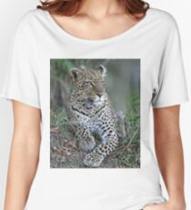 Serengeti Leopard Women's Relaxed Fit T-Shirt