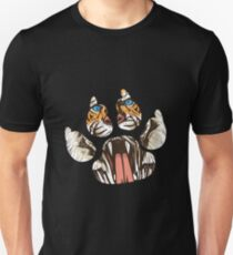 Tiger Paw Awesome Wild Tiger Graphic T-Shirt