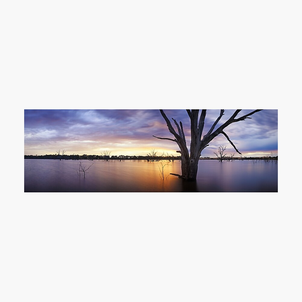 Lake Eppalock, Heathcote, Victoria, Australia Photographic Print