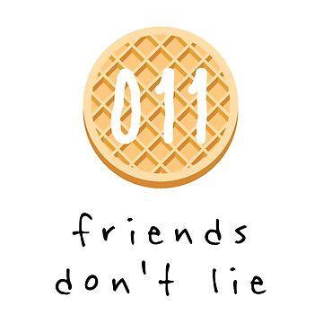 friends don't lie by ciciyu