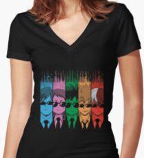 Reservoir Heroes Women's Fitted V-Neck T-Shirt