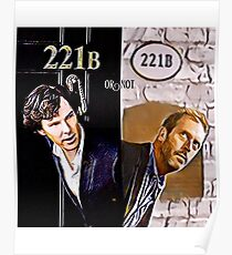 221b or not 221b Poster