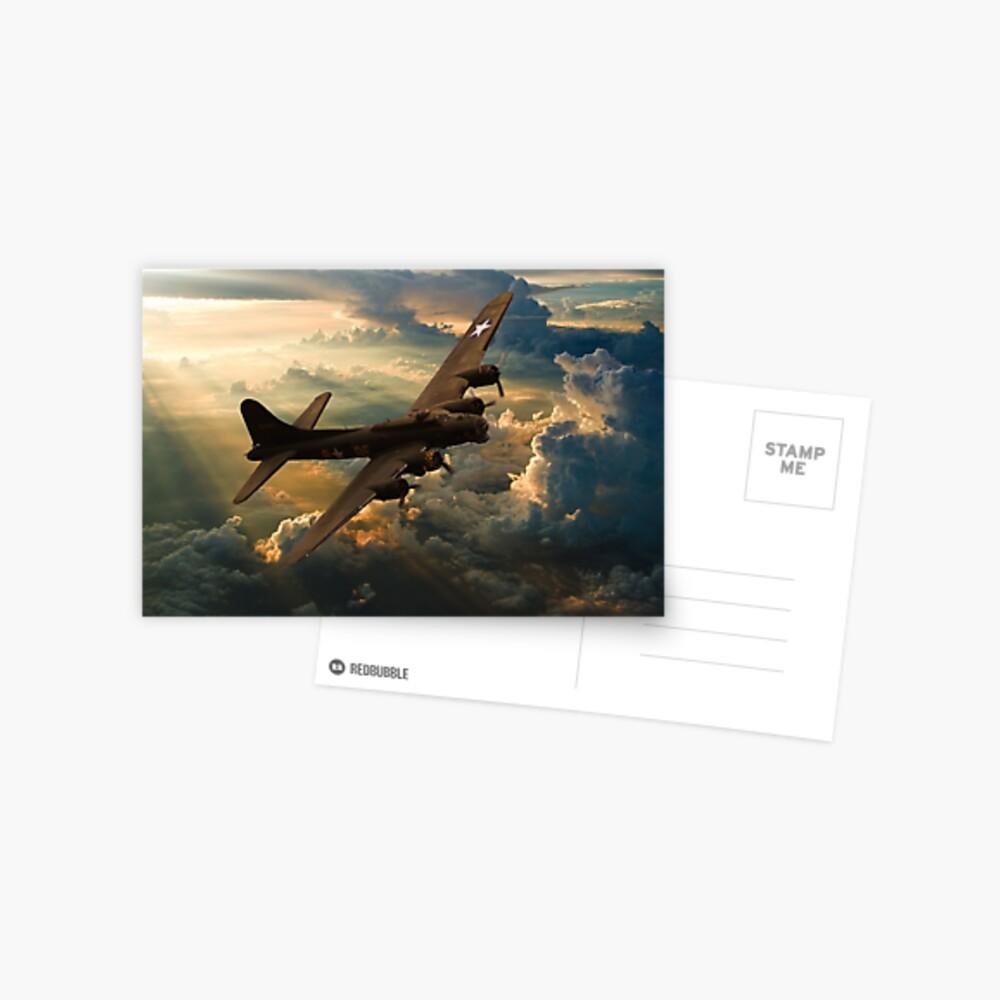 Sonnenuntergang Sally Postkarte