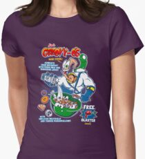 Groovy-Os Cereal Women's Fitted T-Shirt