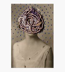 Water Woman, embroidered photo Photographic Print