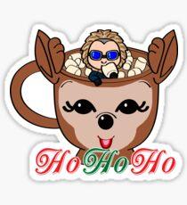 Ho Ho Ho Mug Sticker