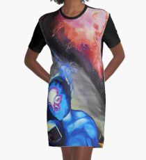 Sacred Knowledge Graphic T-Shirt Dress