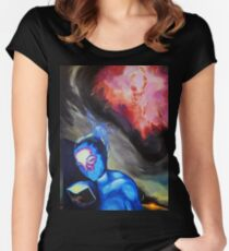 Sacred Knowledge Women's Fitted Scoop T-Shirt