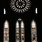 Rose Window, York Minster by Bev Pascoe