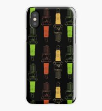 Spark Plugs Traffic Light Colours iPhone Case
