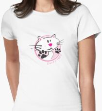 purrr-fect Womens Fitted T-Shirt