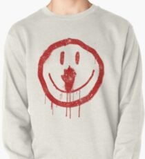 Cult Smiley Face Pullover Sweatshirt