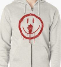 Cult Smiley Face Zipped Hoodie