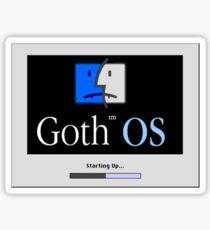 Goth OS (System 8) Sticker