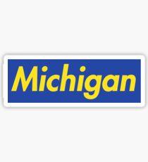 Supreme Michigan Sticker