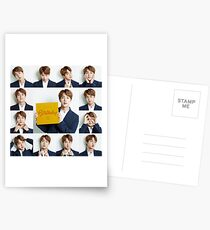 Happy Birthday Jin ! BTS  [T-SHIRTS & STICKERS IN DESCRIPTION] Postcards