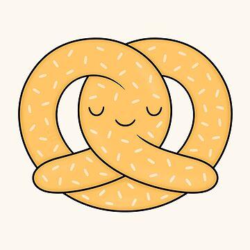Happy Pretzel by kimvervuurt
