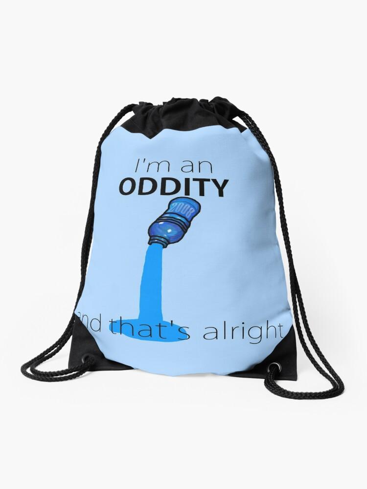 Owl City - Fiji Water   Drawstring Bag