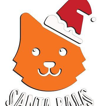 Santa Paws by TheShirtShopUK