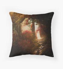 The Elder Forest | Tolkien Inspired Artwork Throw Pillow