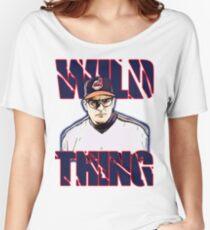 Wild thing - Rick Vaughn Women's Relaxed Fit T-Shirt