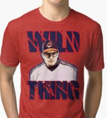 Wild thing - Rick Vaughn Tri-blend T-Shirt