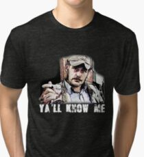 Quint- Jaws Tri-blend T-Shirt