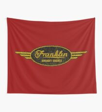 Franklin Aircraft Engines Wall Tapestry