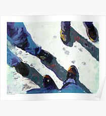 These Boots are Freedom Contemporay Picture Poster
