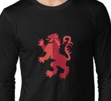 Lion Rampant Long Sleeve T-Shirt
