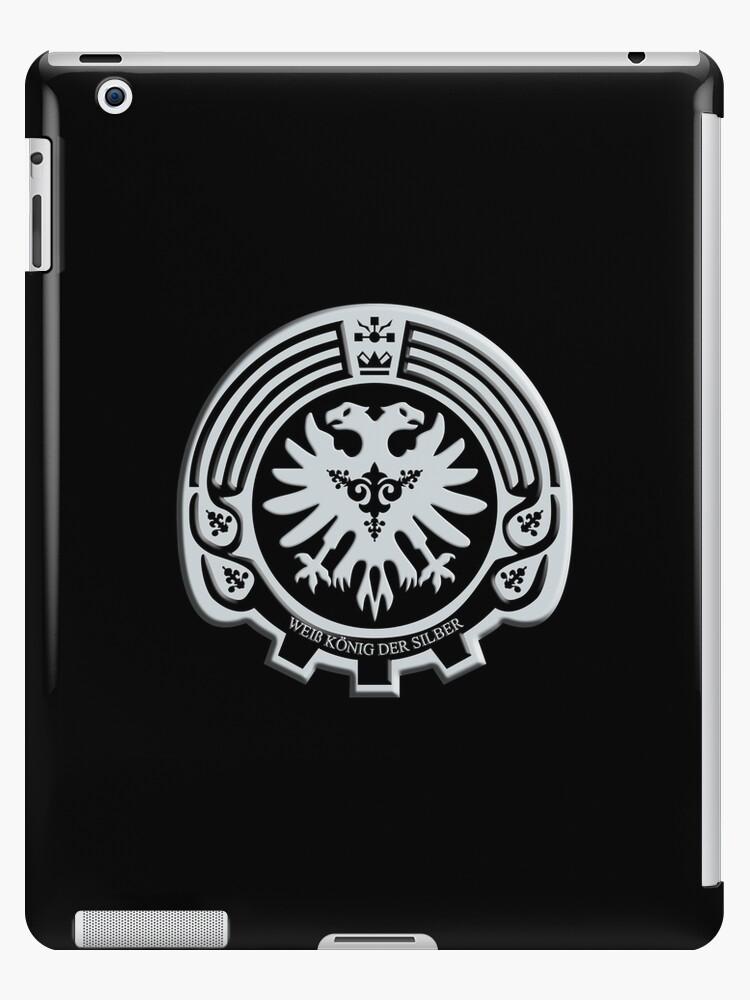 'K: Return of Kings - Silver Insignia (Silver Clan)' iPad Case/Skin by  Fireseed-Josh
