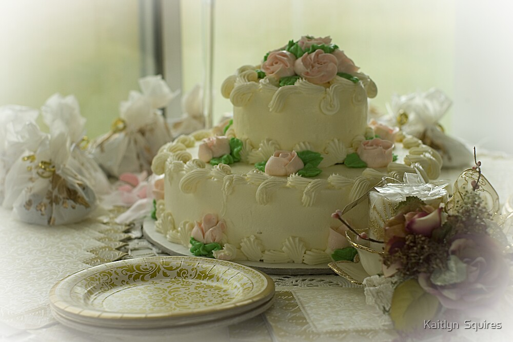Wedding bells & Cake by Kaitlyn  Squires