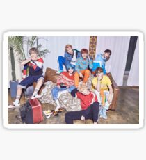 BTS group sticker Sticker