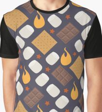 Smores on the Campfire Graphic T-Shirt