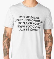 """Why? ""  ( Lauren Jauregui of FIFTH HARMONY clothing ) Men's Premium T-Shirt"