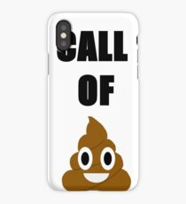 Call of Doody iPhone Case/Skin